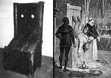 """A imagem """"http://www.spectrumgothic.com.br/images/ocultismo/inquisicao/torturas/cadeira_bruxas.jpg"""" contém erros e não pode ser exibida."""